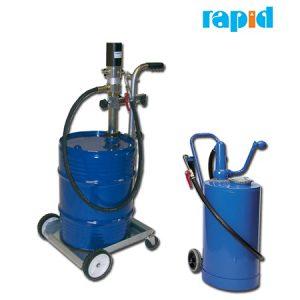 Подача трансмиссионного масла Rapid