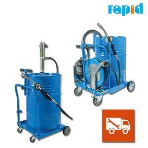 Мобильный дозатор масла, для грузовых автомобилей Rapid