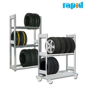 Стелажи для хранения шин Rapid