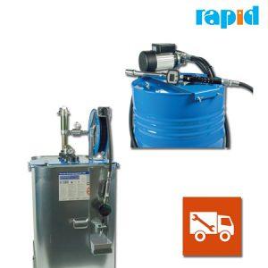 Стационарный дозатор масла, для грузовых автомобилей Rapid