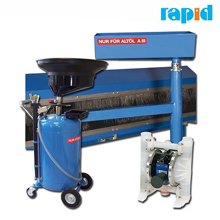 Утилизация отработанного масла Rapid