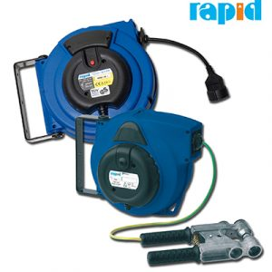 Катушки автоматические с кабелем Rapid